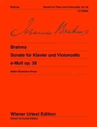 Brahms Sonata for Cello and...
