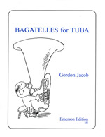 Gordon J Bagatelles for Tuba