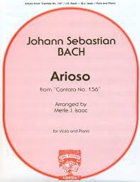 Bach JS Arioso from Cantata...