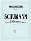Schumann Drei Romanzen fur...