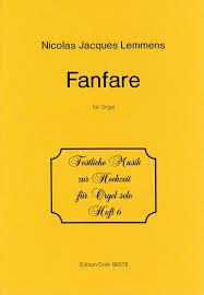 Lemmens J Fanfare for Organ