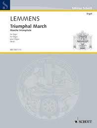 Lemmens J Triumphal March