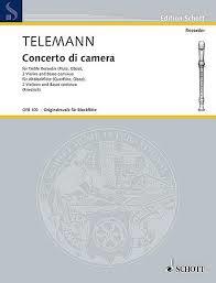 Telemann Concerto di camera...