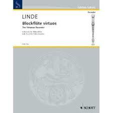 Linde HM Blockflote virtuos...