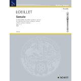 Loeillet Sonate for Treble...