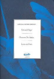 Elgar E Chanson De Matin...