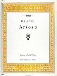 Handel Arioso arr F W Franke