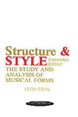 Stein L Structure & Style...