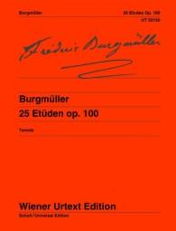 Burgmüller 25 Etudes Op 100