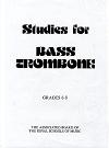 ABRSM Studies for Bass...