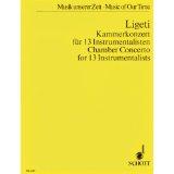 Ligeti Chamber Concerto for...