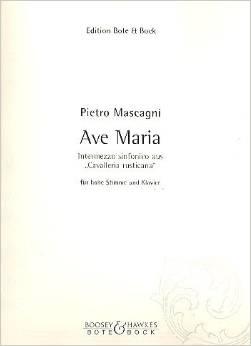 Mascagni P Ave Maria...
