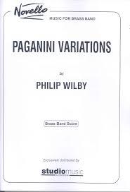 Wilby P Paganini Variations...