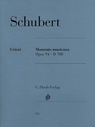 Schubert Moment Musicaux Op...