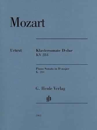 Mozart Piano Sonata in D K284