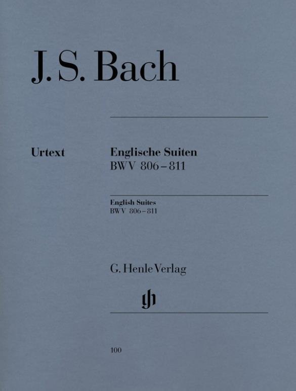 Bach JS English Suites BWV...
