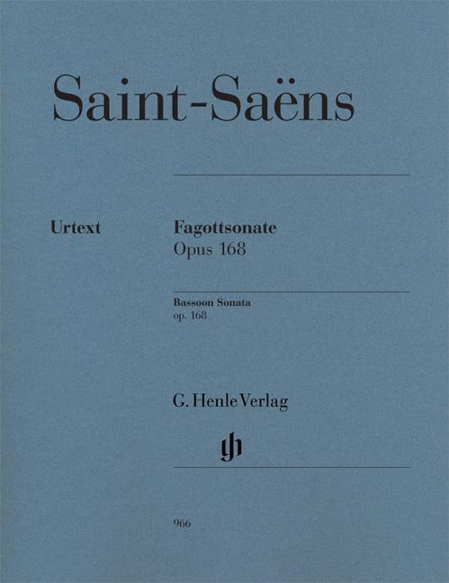 Saint-Saëns Bassoon Sonata...