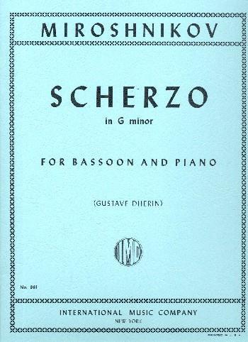 Miroshnikov Scherzo for...