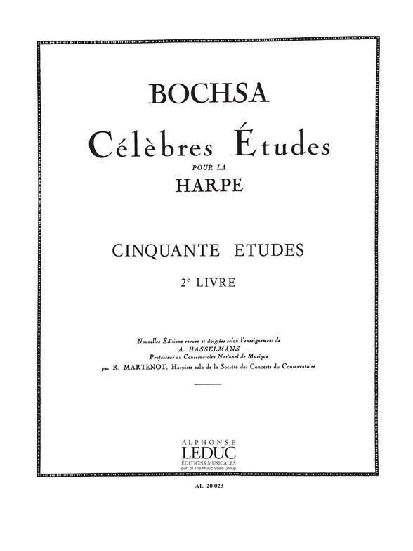 Bochsa 50 Etudes Opus 34...