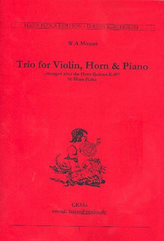 Mozart Trio for Violin,...