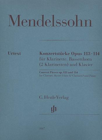 Mendelssohn Concert Pieces...