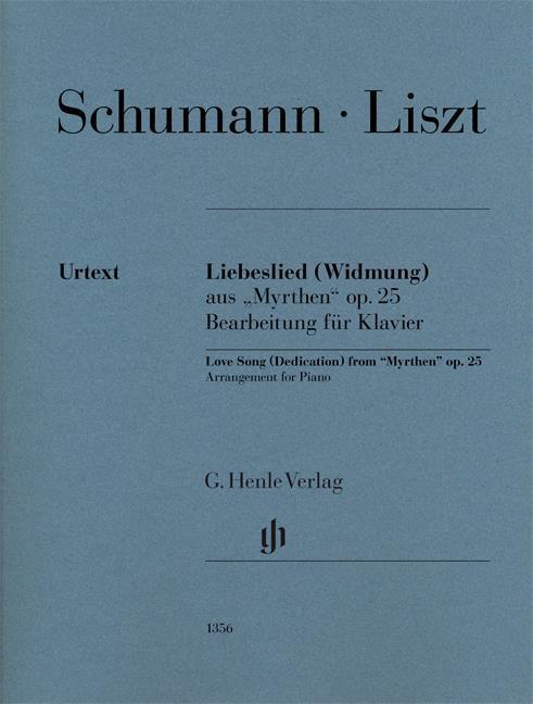 Schumann R Liebeslied...