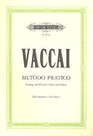 Vaccai Metodo Pratico for...