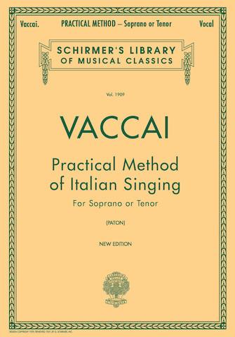 Vaccai for Soprano or Tenor