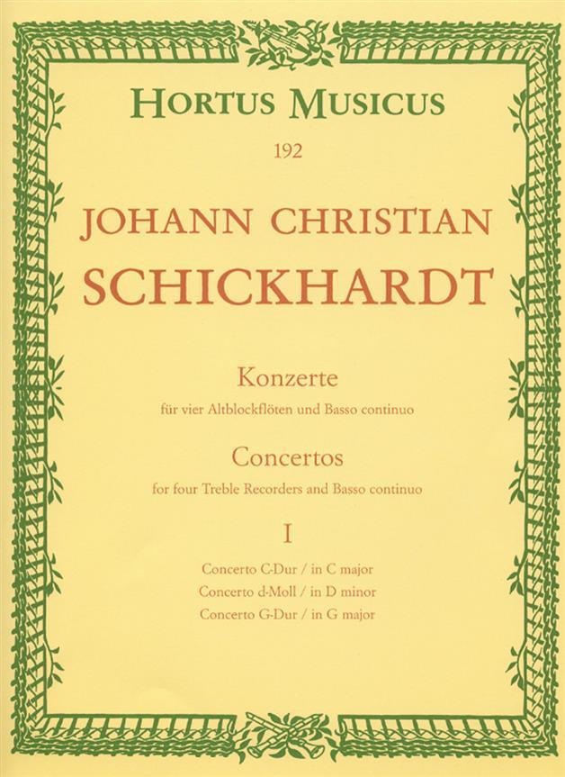 Schickhardt JC Concertos...