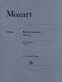 Mozart Piano Sonatas Volume 1