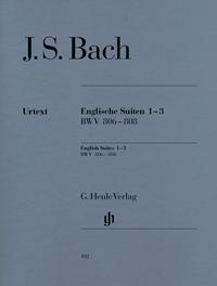 Bach JS English Suites 1-3...