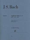 Bach JS English Suites 4-6...