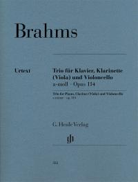 Brahms Trio for Clarinet,...