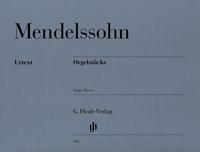 Mendelssohn Organ Pieces